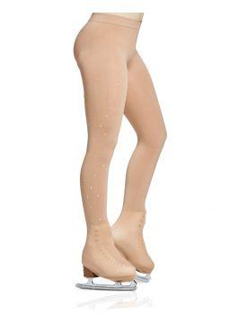 Rhinestones boot cover tights