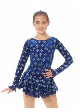 Born to Skate mesh detail dress