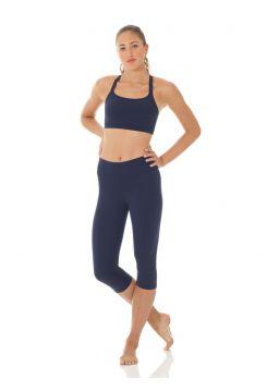 Matrix wide waistband capri