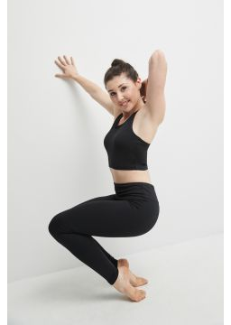 Leggings with formed waistband, Matrix