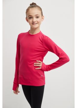 Long sleeve shirt with opening for thumb