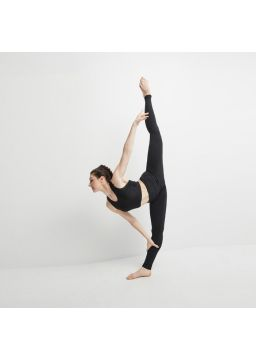 Leggings with formed waistband