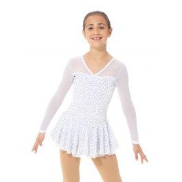 Mondor 12930 Royal Blue Velvet Glitter Dress