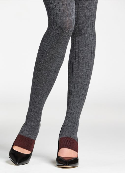 unique design 2019 authentic factory outlet Toeless Merino wool tights