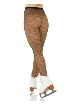 Cabaret Fishnet  Tight with Rhinestones