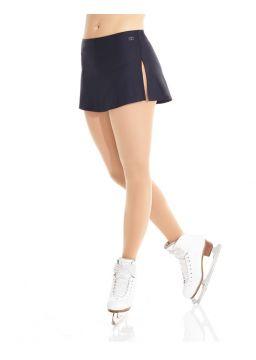 Shinny nylon flat skirt
