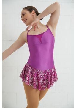 Glitter mesh full skirt
