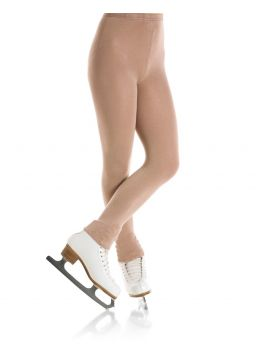 Footless Natural satiny tight