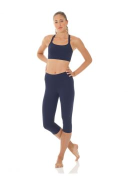 Matrix wide waistband capri