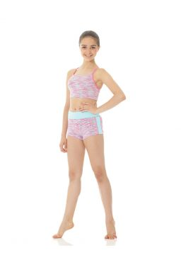 Vinna Long racer-back crop top