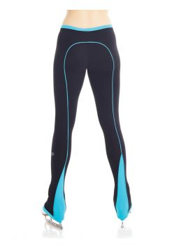 Supplex® back piping legging