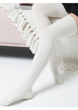 merino wool Over-the-knee socks