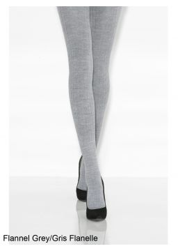 Merino wool ribbed tights