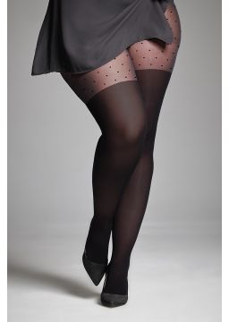 Effect over-the-knee tights