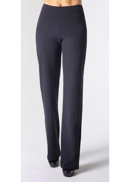 Mid-waist Straight Leg Pants