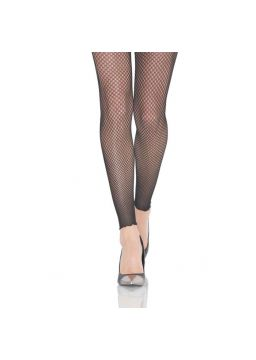 Double fishnet footless tights