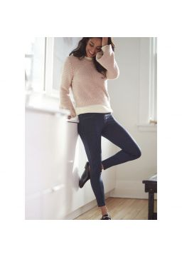 Jeggings denim effect