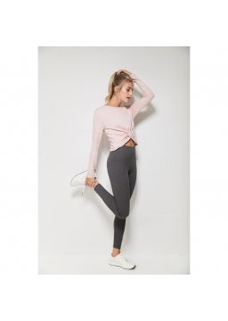 Legging with slimming waistband