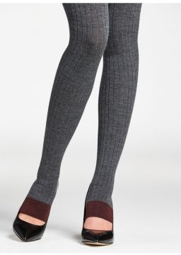 Toeless Merino wool tights