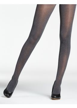 Heather microfiber tights