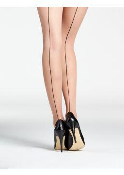 Back seam tights
