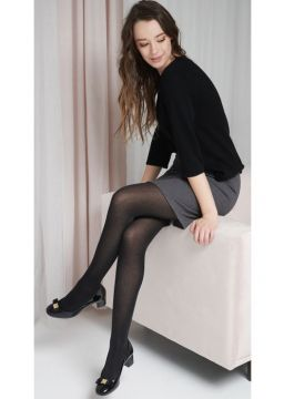 Cotton sheen tights