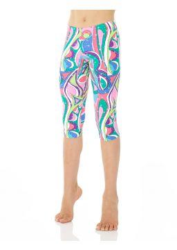 Printed Capri legging