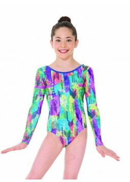Mondor long sleeve leotard sea urchins collection
