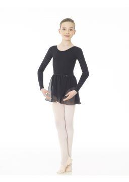 Studio 55 Pull-on chiffon wrap skirt
