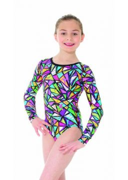 Mondor long sleeve leotard hieroglyph collection