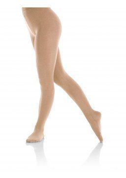 Footed Natural satiny tight