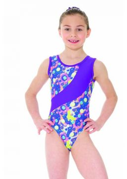Sleeveless Leotard Sparkling