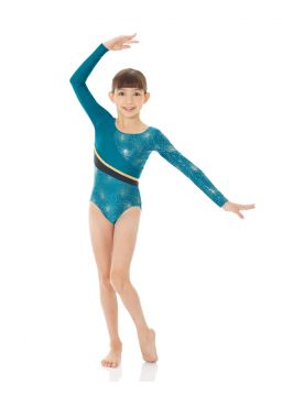 Mondor long sleeve leotard comic shapes collection
