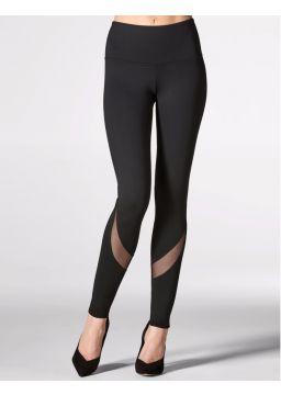 Mesh design leggings