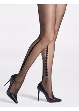 Gradient dot motif tights