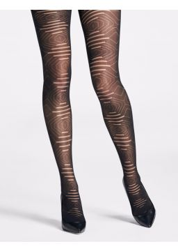 Architectural motif tights